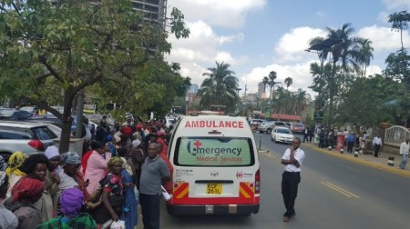 Ambulance, Kenya Red Cross, Humanitarian Support